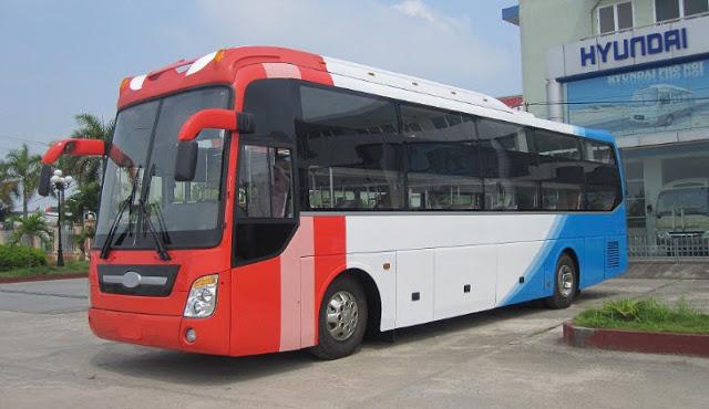 thuê xe du lịch 45 chỗ Hyundai Hi-Class 01