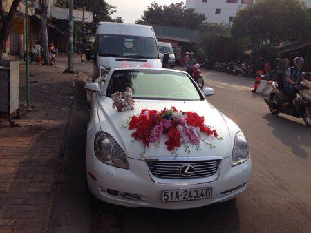 Thuê xe cưới mui trần Lexus - 03