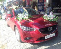 Cho thuê xe cưới Mazda 6 -1